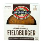 Vegan Veggie Burgers Guide (Brands and Recipes) Pictured: Field Roast Fieldburger