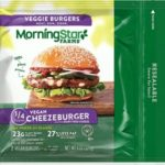 Vegan Veggie Burgers Guide (Brands and Recipes) Pictured: Morningstar Farms Cheezeburger