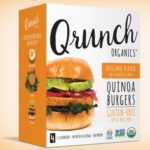 Vegan Veggie Burgers Guide (Brands and Recipes) Pictured: Qrunch Organics Quinoa Burgers