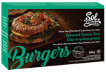 Vegan Veggie Burgers Guide (Brands and Recipes) Pictured: Sol Cuisine Burgers