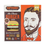 Vegan Veggie Burgers Guide (Brands and Recipes) Pictured: Upton's Classic Burger