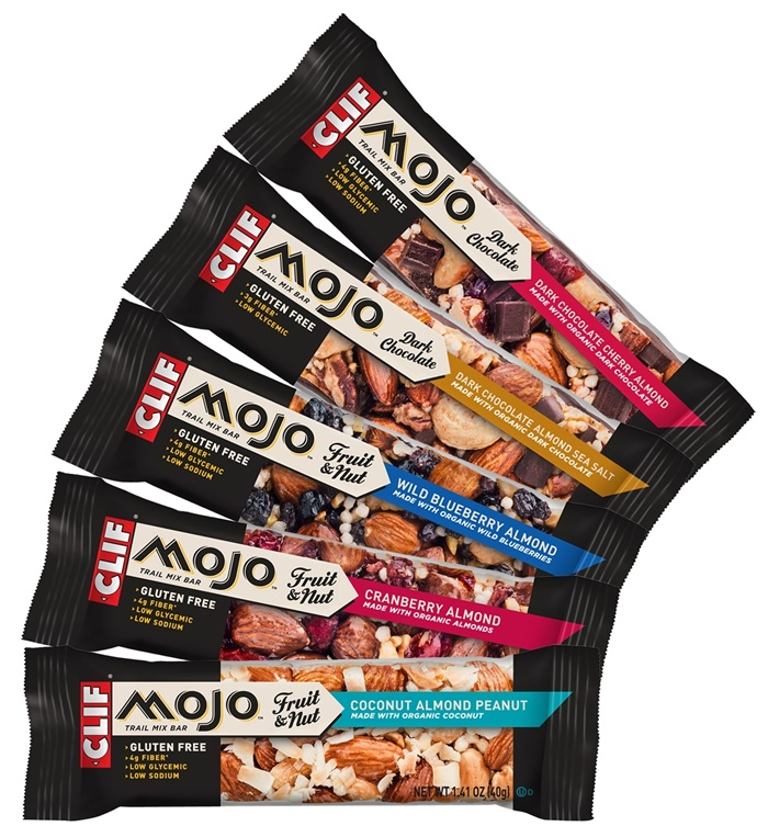 Clif Mojo Trail Mix Bars: Sweet, Salty, Fruity, Nutty, Chocolaty (dairy-free, gluten-free)