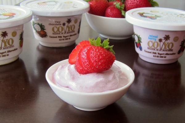 CoYo Coconut Milk Yogurt Alternative - dairy-free, soy-free, vegan, and low in sugar!