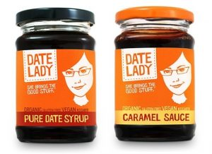 Date Lady Organic Caramel Sauce and Pure Date Syrup - #dairyfree