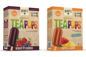 DeeBee's Organic TeaPops - #dairyfree + low-sugar, allergy-friendly, gluten-free, non-GMO