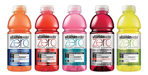 Favorite Healthy Beverages - Vitamin Water Zero
