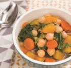 Hearty Autumn Vegetable and Chickpea Soup