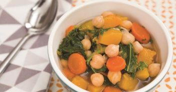 Hearty Chickpea Vegetable Soup