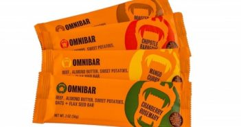 Omnibar: Omnivorous Dairy-Free Bars that combine Pasture-Raised Beef with Whole Food Endurance Ingredients