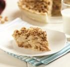 Peanut Butter Apple Crumble Pie