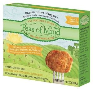 Peas of Mind Garden Grown Nuggets - Original or BBQ #dairyfree