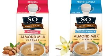 So Delicious Dairy Free Almond Milk Creamers - Vegan, Soy-Free, Gluten-Free
