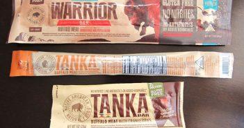 Tanka Bars and Sticks - Gluten-Free, Nitrite-Free, and Made with Buffalo Meat #dairyfree