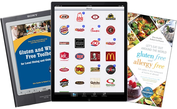 Top Restaurant Apps (Food Allergies) - Gluten-Free Allergy-Free Passport
