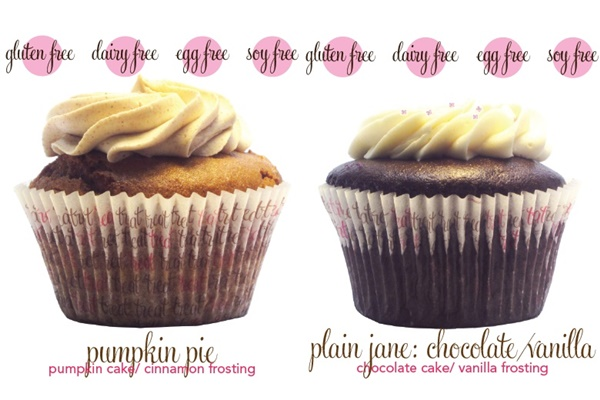 Treat Cupcake Bar in Needham, MA - Dairy-Free, Gluten-Free, Soy-Free, Egg-Free, Vegan Cupcakes