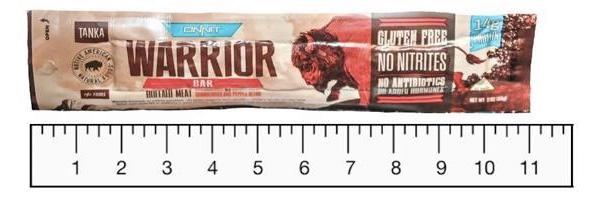 Tanka Warrior Bars - Gluten-Free, Nitrite-Free, and Made with Buffalo Meat #dairyfree