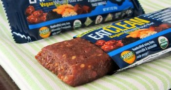 eatCLEAN Vegan Whole Food Bar Review (dairy-free, gluten-free, organic)