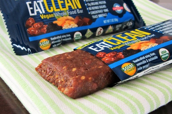 eatCLEAN Vegan Whole Food Bar Review (dairy-free, gluten-free, organic)
