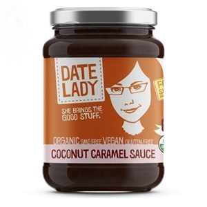 Date Lady Coconut Caramel Sauce Reviews and Info - Dairy-Free, Gluten-Free, Vegan, Paleo