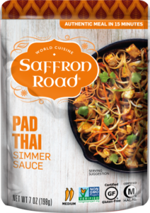 Saffron Road Simmer Sauces Reviews and Info (Dairy-Free Varieties) - all vegan, gluten-free, and so flavorful. Globally inspired.