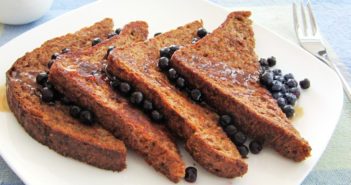 Vegan Buckwheat French Toast Recipe with Gluten-Free Option - Health, delicious, plant-based breakfast from the pantry!