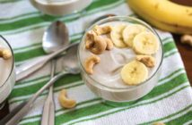 Easy, Raw Cashew Banana Yogurt (no culturing required!) - dairy-free, vegan, gluten-free, soy-free recipe