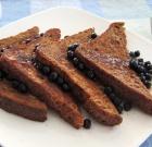 Cinnamon-Buckwheat Vegan French Toast