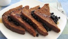 Cinnamon-Buckwheat Vegan French Toast