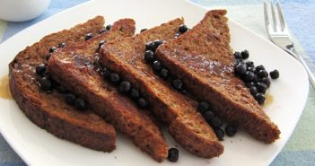 Cinnamon Buckwheat Vegan French Toast - You won't believe it's egg-free! Also dairy-free and optionally gluten-free.