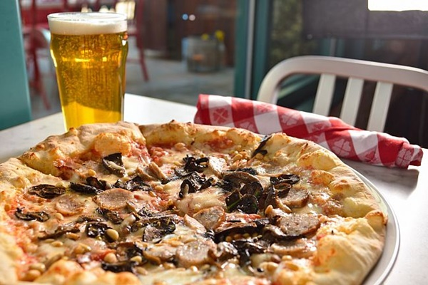 Flour & Barley Brick Oven Pizza in Las Vegas offers Daiya Dairy-Free Cheese Alternative