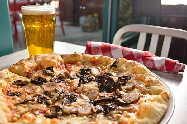 Flour & Barley Brick Oven Pizza in Las Vegas offers Daiya Dairy-Free Cheese Alternative