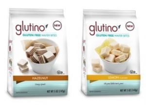 Glutino Gluten Free Wafer Bites - Dairy-Free, Vegan, All-Natural, and Perfect with Tea or Coffee