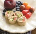 Healthy Hummus Pinwheels