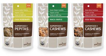 Navitas Naturals Superfood+ Snacks: Organic, Vegan, Gluten-free, and Unreal Nutty Appeal #dairyfree
