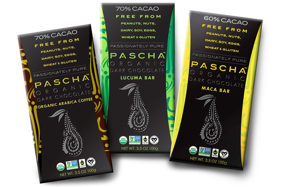 Pure Chocolate with Lucuma, Maca, and Arabica Coffee (organic, fair trade, gluten-free, vegan, and nutritious!)
