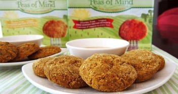 Peas of Mind Garden Grown Nuggets: Vegetarian Kid-Friendly Bites - #dairyfree Original or BBQ