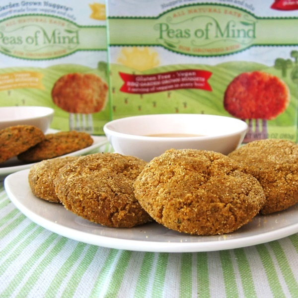 Peas of Mind Garden Grown Nuggets: Vegetarian Kid-Friendly Bites - #dairyfree Original or BBQ