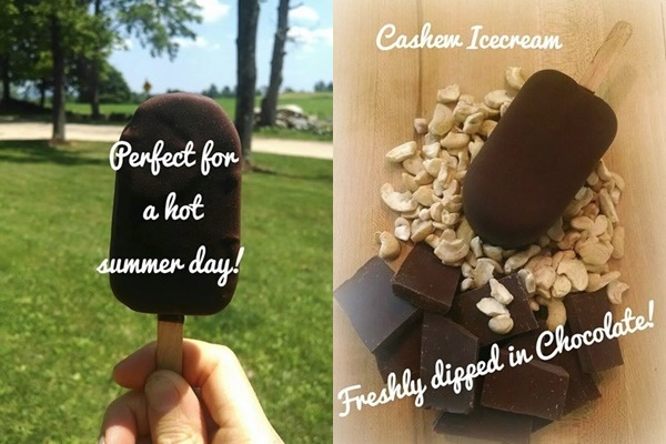 Rock Salt Creamery Makes Dairy-Free Cashew Ice Cream in Sanbornton New Hampshire
