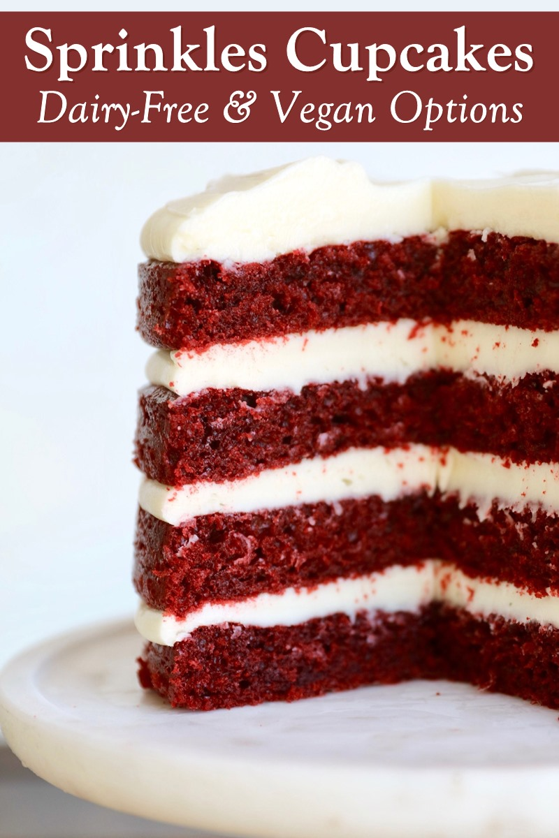 Dairy-Free and Vegan Cupcake and Cake Options at Sprinkles Cupcakes