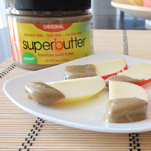 SuperButter Premium Seed Butter - Nut-, Peanut-, and Dairy-Free (great for lunch boxes!)