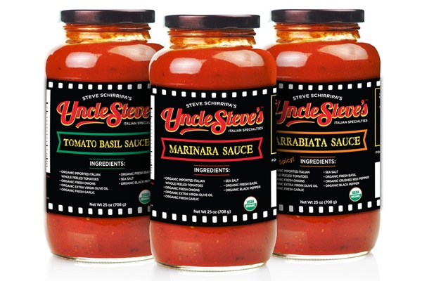 Uncle Steve's Organic Italian Sauces: Certified Organic and Kosher Parve; Gluten-Free and Vegan; Wholesome Ingredients with No Additives and No Added Sugars