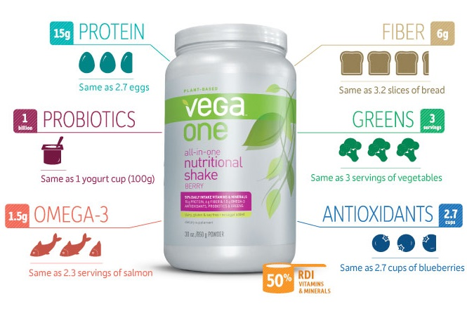 Vega one protein reviews