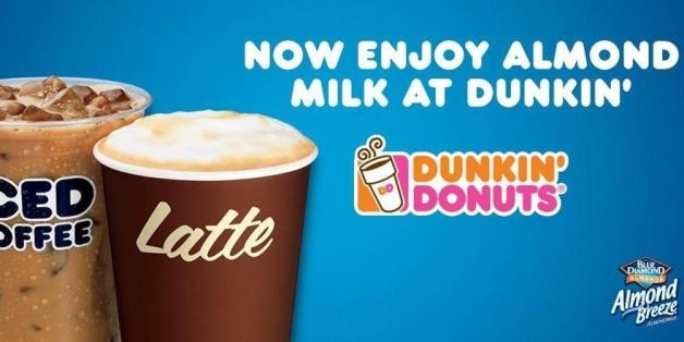 Dunkin Donuts Offers Dairy Free Almond Milk In Most Locations