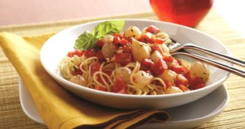 Speedy Fresh Tomato Sauce with Pearl Onions - naturally dairy-free, gluten-free, healthy recipe