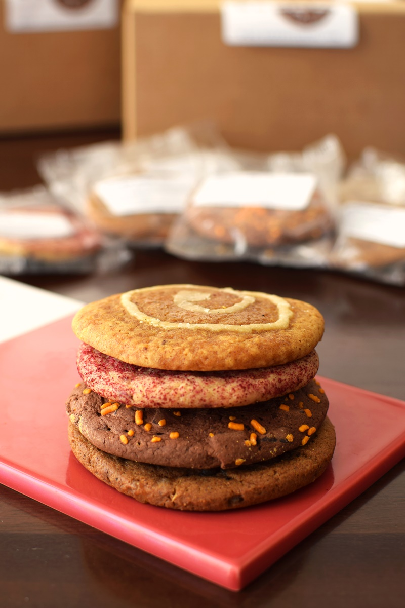 Nomoo Cookies Review (all dairy-free and kosher parve!) - fall flavors pictured
