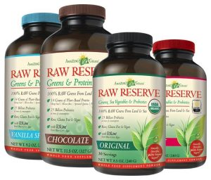 Amazing Grass Raw Reserve: Greens, Dairy-Free Proteins, and Probiotics