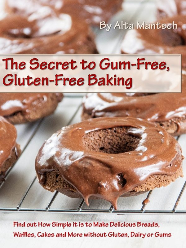 Chocolate Donuts Recipe from The Secret to Gum-Free Gluten-Free Baking by Alta Mantsch