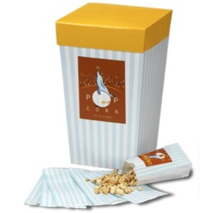 Divvies Gourmet Popcorn: Kettle to Caramel (made in a dedicated dairy-, egg- and nut-free bakery)