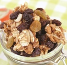 Speedy Homemade Nut and Honey Snack Mix