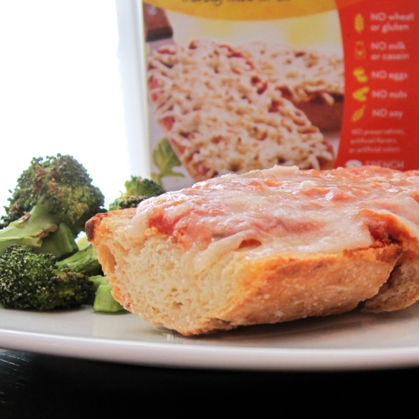 Ian's Frozen Entrees - French Bread Pizza (dairy-free, gluten-free, soy-free)